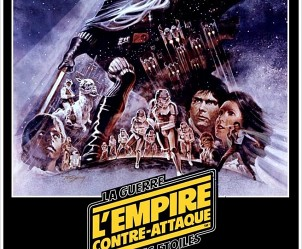 Affiche du film Star Wars Episode V - L'Empire contre-attaque de Irvin Kershner