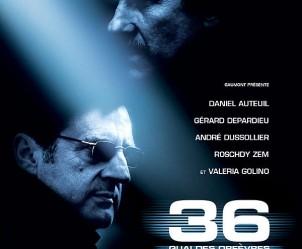Affiche du film 36 Quai des Orfèvres de Olivier Marchal