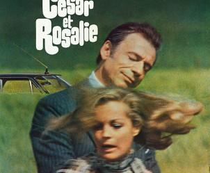 Affiche du film César et Rosalie de Claude Sautet