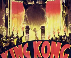 Affiche du film King Kong de Ernest B. Schoedsack et Merian C. Cooper