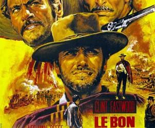 Affiche du film Le Bon, la brute et le truand de Sergio Leone