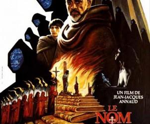 Affiche du film Le Nom de la Rose de Jean-Jacques Annaud