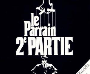 Affiche du film Le Parrain, 2e partie de Francis Ford Coppola