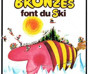 Affiche du film Les Bronzés font du ski de Patrice Leconte