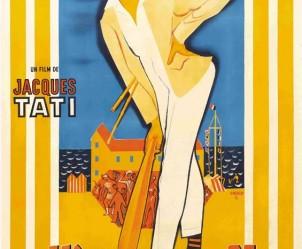Affiche du film Les Vacances de monsieur Hulot de Jacques Tati