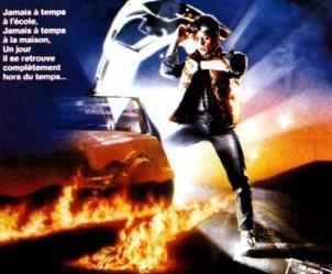 Affiche du film Retour vers le futur de Robert Zemeckis