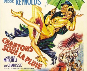 Affiche du film Chantons sous la pluie de Stanley Donen et Gene Kelly