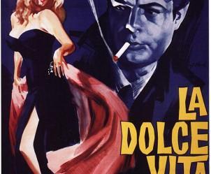 Affiche du film La Dolce Vita de Federico Fellini