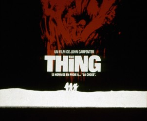 Affiche du film The Thing de John Carpenter