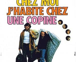 Affiche du film Viens chez moi, j'habite chez une copine de Patrice Leconte