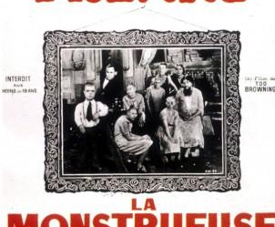 Affiche du film Freaks, la monstrueuse parade de Tod Browning