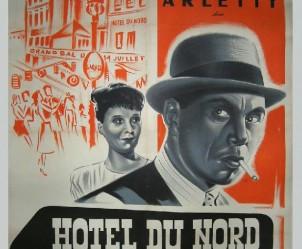 Affiche du film Hôtel du Nord de Marcel Carné