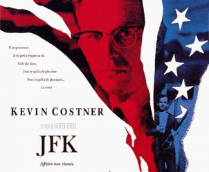 Affiche du film JFK de Oliver Stone