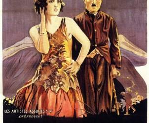 Affiche du film La Ruée vers l'or de Charles Chaplin