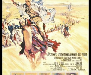 Affiche du film Lawrence d'Arabie de David Lean