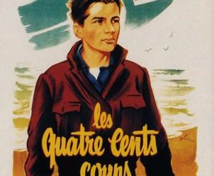 Affiche du film Les quatre cents coups de François Truffaut