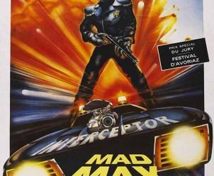Affiche du film Mad Max de George Miller