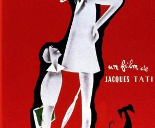 Affiche du film Mon oncle de Jacques Tati