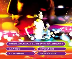 Affiche du film Slumdog Millionaire de Danny Boyle