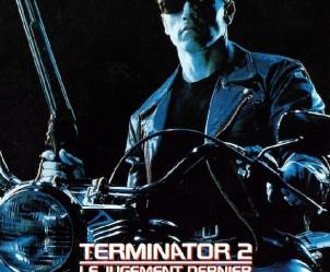 Affiche du film Terminator 2 : le Jugement Dernier de James Cameron