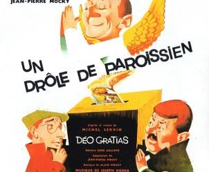 Affiche du film Un drôle de paroissien de Jean-Pierre Mocky