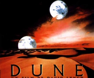 Affiche du film Dune de David Lynch