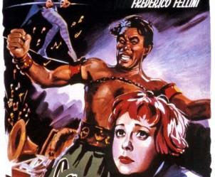 Affiche du film La Strada de Federico Fellini