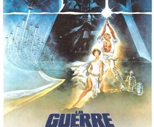 Affiche du film Star Wars IV - Un nouvel espoir (La Guerre des étoiles) de George Lucas