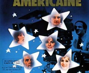 Affiche du film La Nuit américaine de François Truffaut
