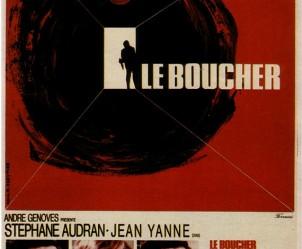 Affiche du film Le Boucher de Claude Chabrol