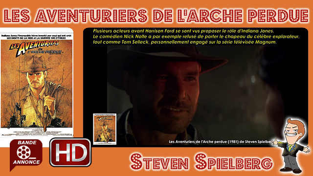 Les Aventuriers de l'Arche perdue de Steven Spielberg (1981)