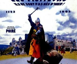 Affiche du film Les Visiteurs de Jean-Marie Poiré