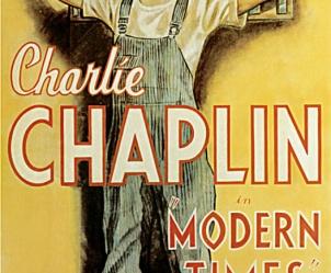 Affiche du film Les Temps modernes de Charles Chaplin