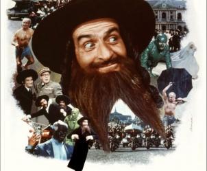 Affiche du film Les aventures de Rabbi Jacob de Gérard Oury
