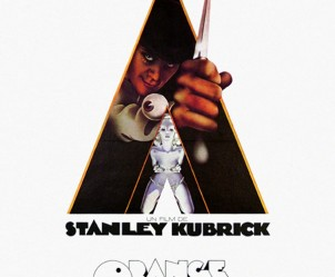 Affiche du film Orange mécanique de Stanley Kubrick