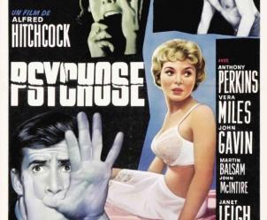 Affiche du film Psychose de Alfred Hitchcock