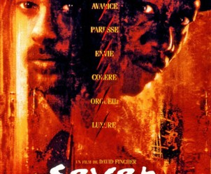 Affiche du film Seven de David Fincher