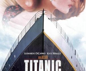 Affiche du film Titanic de James Cameron