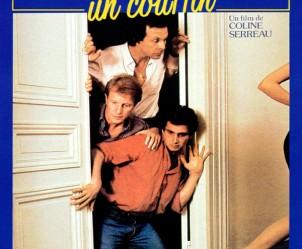Affiche du film Trois hommes et un couffin de Coline Serreau