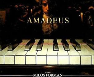 Affiche du film Amadeus de Milos Forman