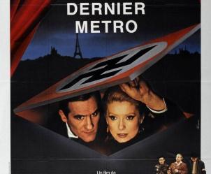 Affiche du film Le dernier métro de François Truffaut