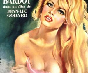 Affiche du film Le mépris de Jean-Luc Godard
