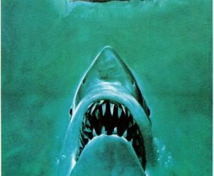 Affiche du film Les Dents de la Mer de Steven Spielberg
