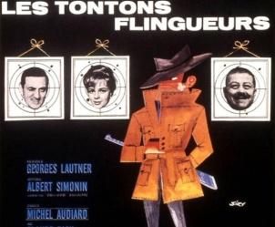 Affiche du film Les Tontons flingueurs de Georges Lautner