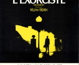 Affiche du film L'Exorciste de William Friedkin