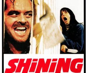 Affiche du film Shining de Stanley Kubrick
