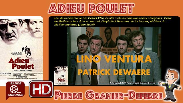 Adieu poulet de Pierre Granier-Deferre (1975)