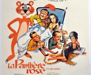 Affiche du film La Panthère Rose de Blake Edwards