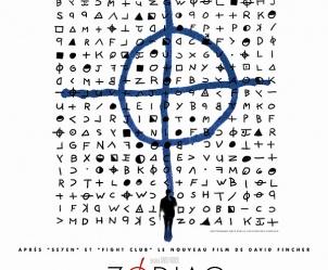 Affiche du film Zodiac de David Fincher