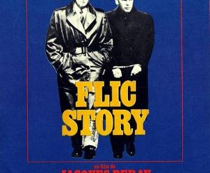 Affiche du film Flic Story de Jacques Deray